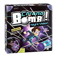 PlayMonster,Chrono Bomb Night Vision - Secret Agent Maze Game - Play During The Day or in The Dark!