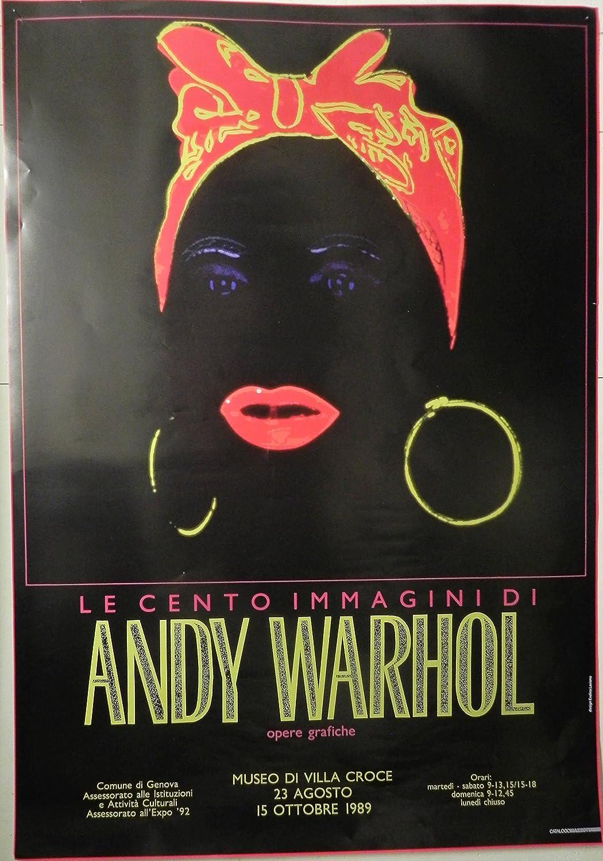 Artsinvestor Andy Warhol Mammy Poster Plakat für 1989 Europäische Ausstellung (70x100cm)