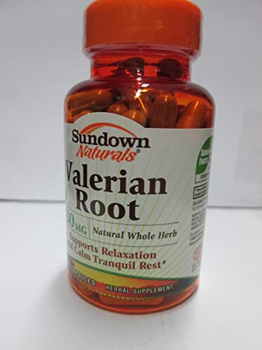 Sundown Valerian Root 530 mg Capsules 100 Capsules Pack of 2