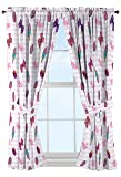 Nickelodeon JoJo Siwa Sweet Life Pink/White Curtain