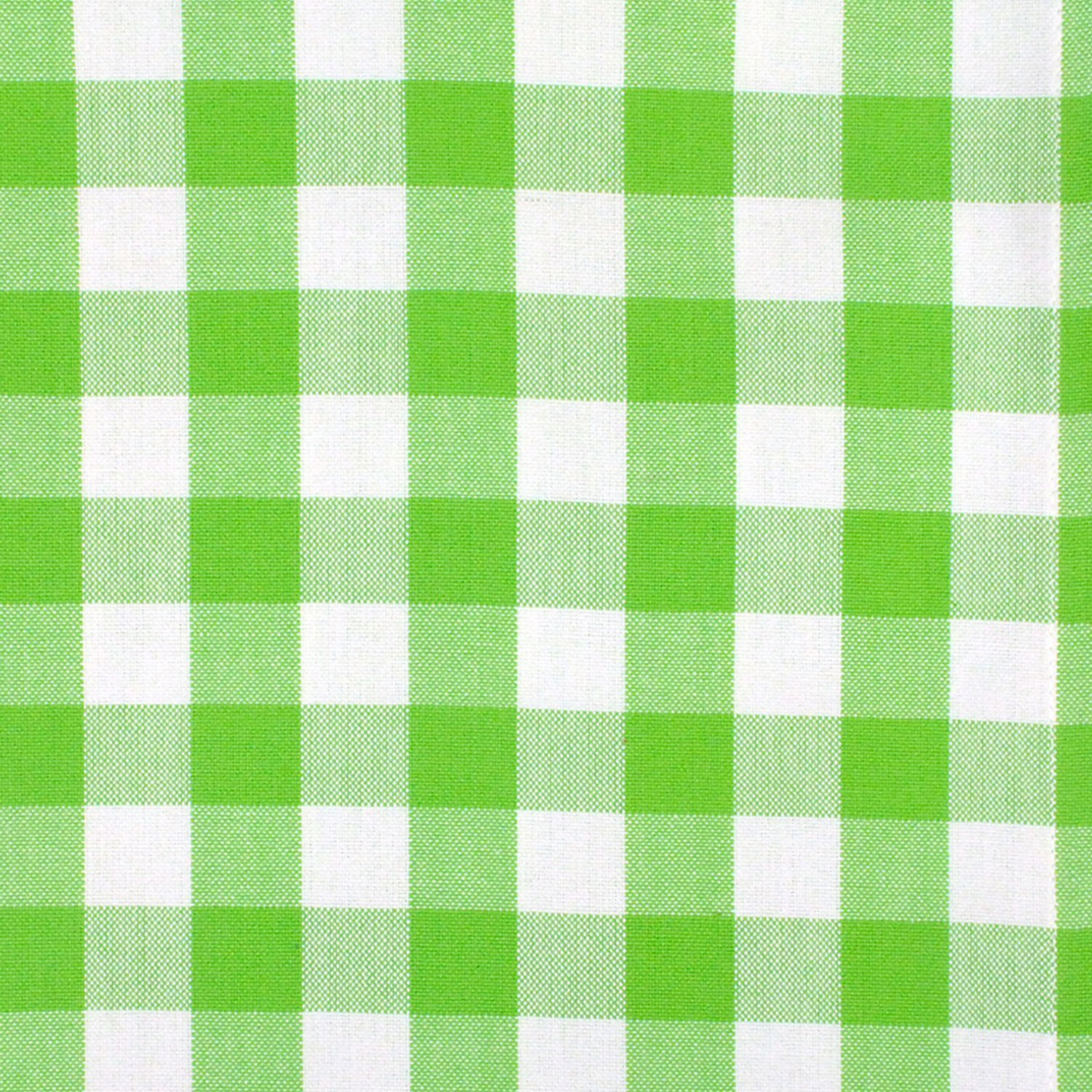 DII 100% Cotton, Oversized Basic Everyday 20x 20 Napkin, Set of 6, Green Apple Check by DII (Image #2)