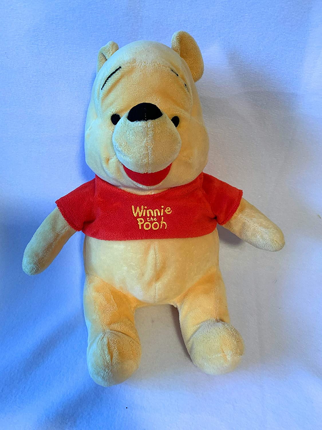 Weighted stuffed bear, Winnie the Pooh sensory toy with 3 1/2 lbs
