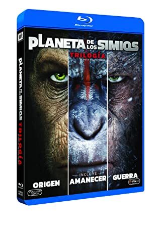 Trilogía Planeta De Los Simios Blu-Ray [Blu-ray]: Amazon.es: James ...