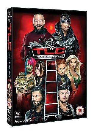 WWE: TLC - Tables, Ladders & Chairs 2019 DVD Reino Unido: Amazon.es: AJ Styles, Becky Lynch, Roman Reigns, Seth Rollins, AJ Styles, Becky Lynch: Cine y Series TV