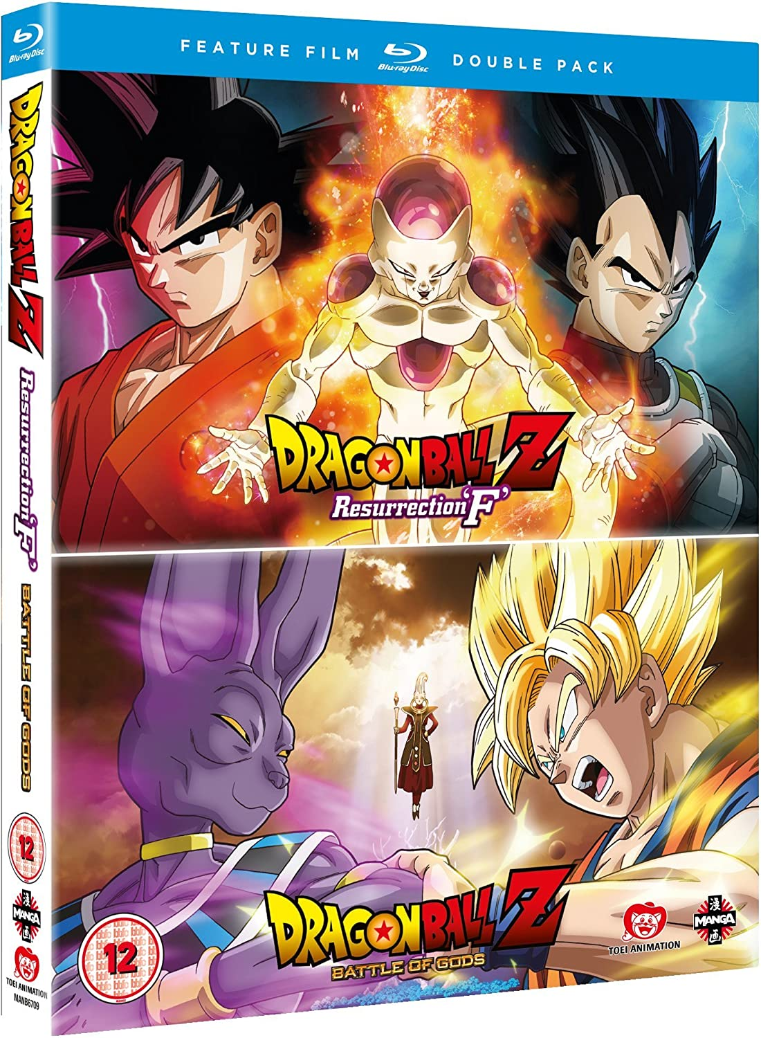 Dragon Ball Z: Battle Of Gods/Resurrection F Blu-ray Reino Unido ...