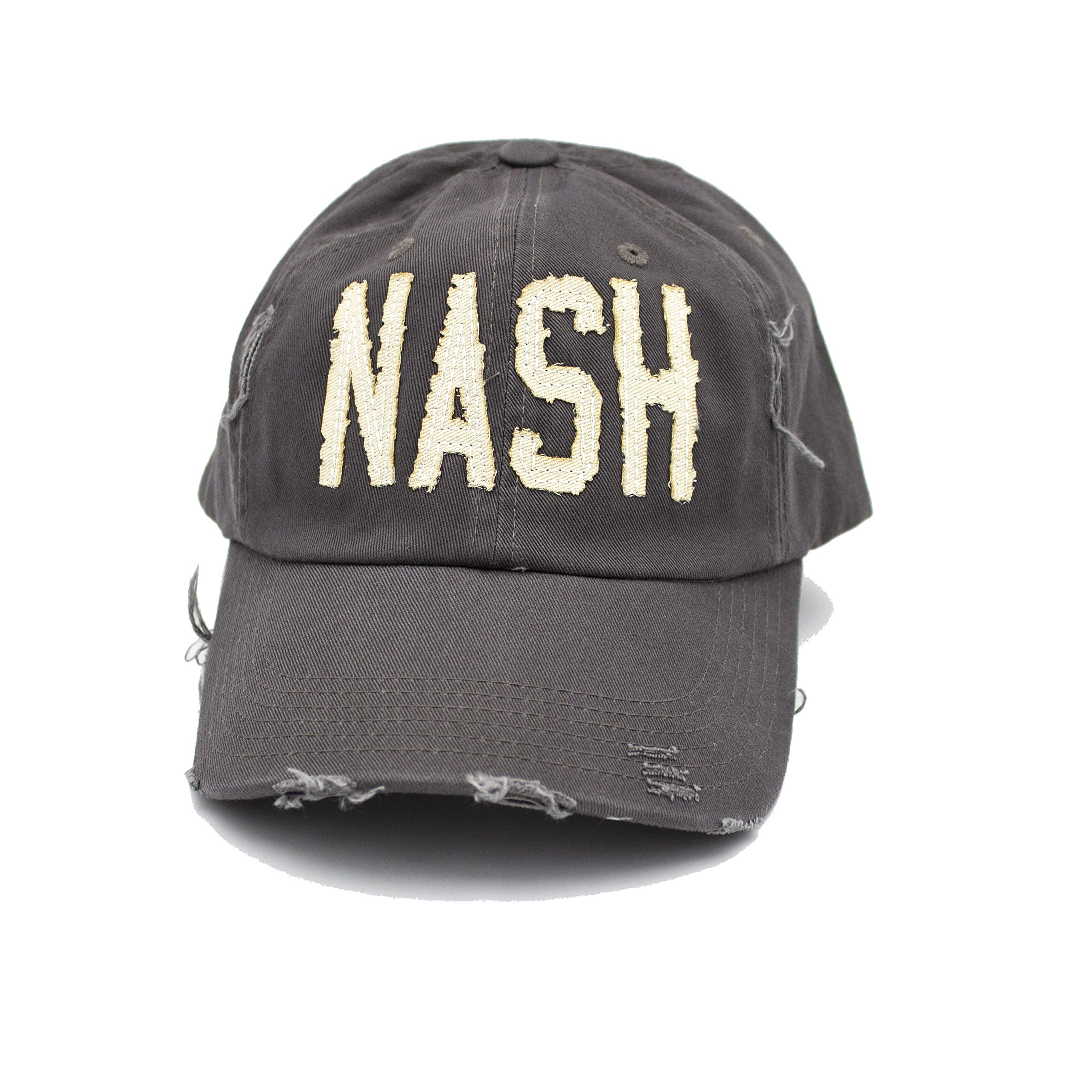 Cotton Mule Gray Nash Hat
