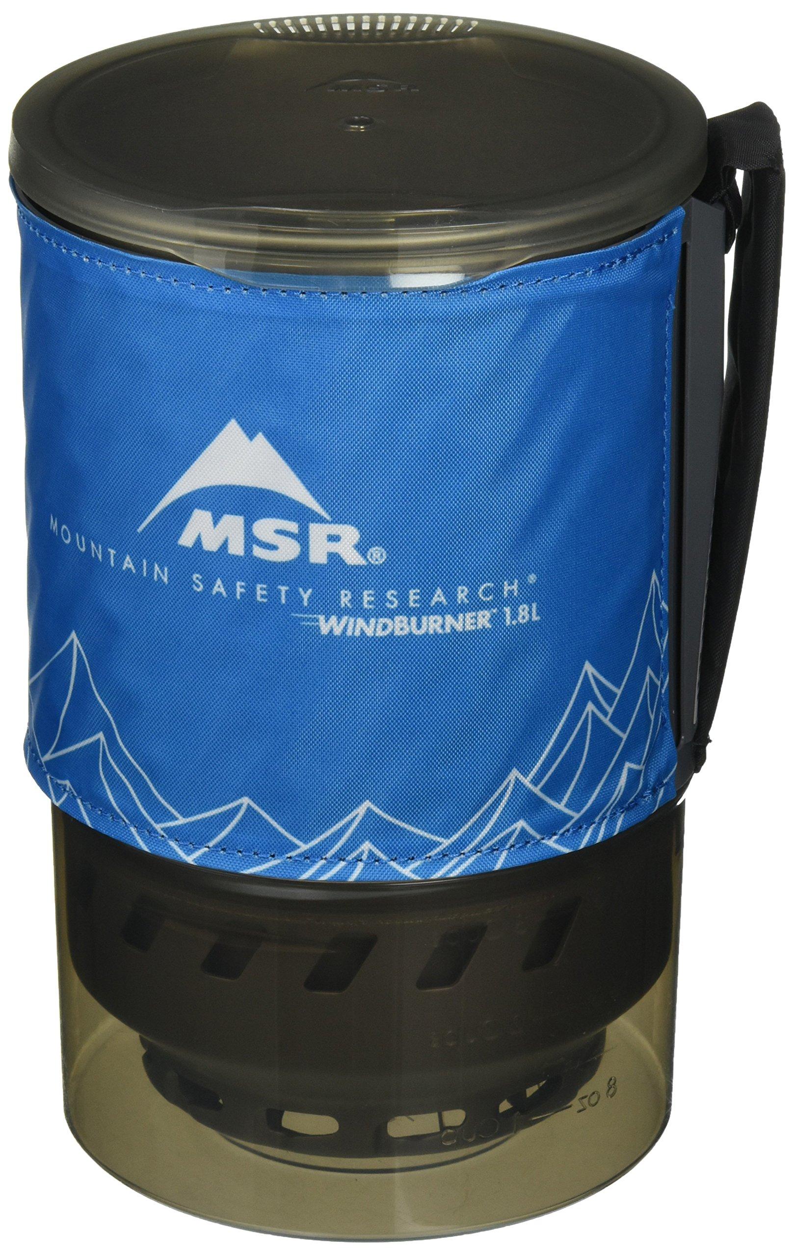 MSR WindBurner 1.8L Accessory Pot (Blue) by MSR