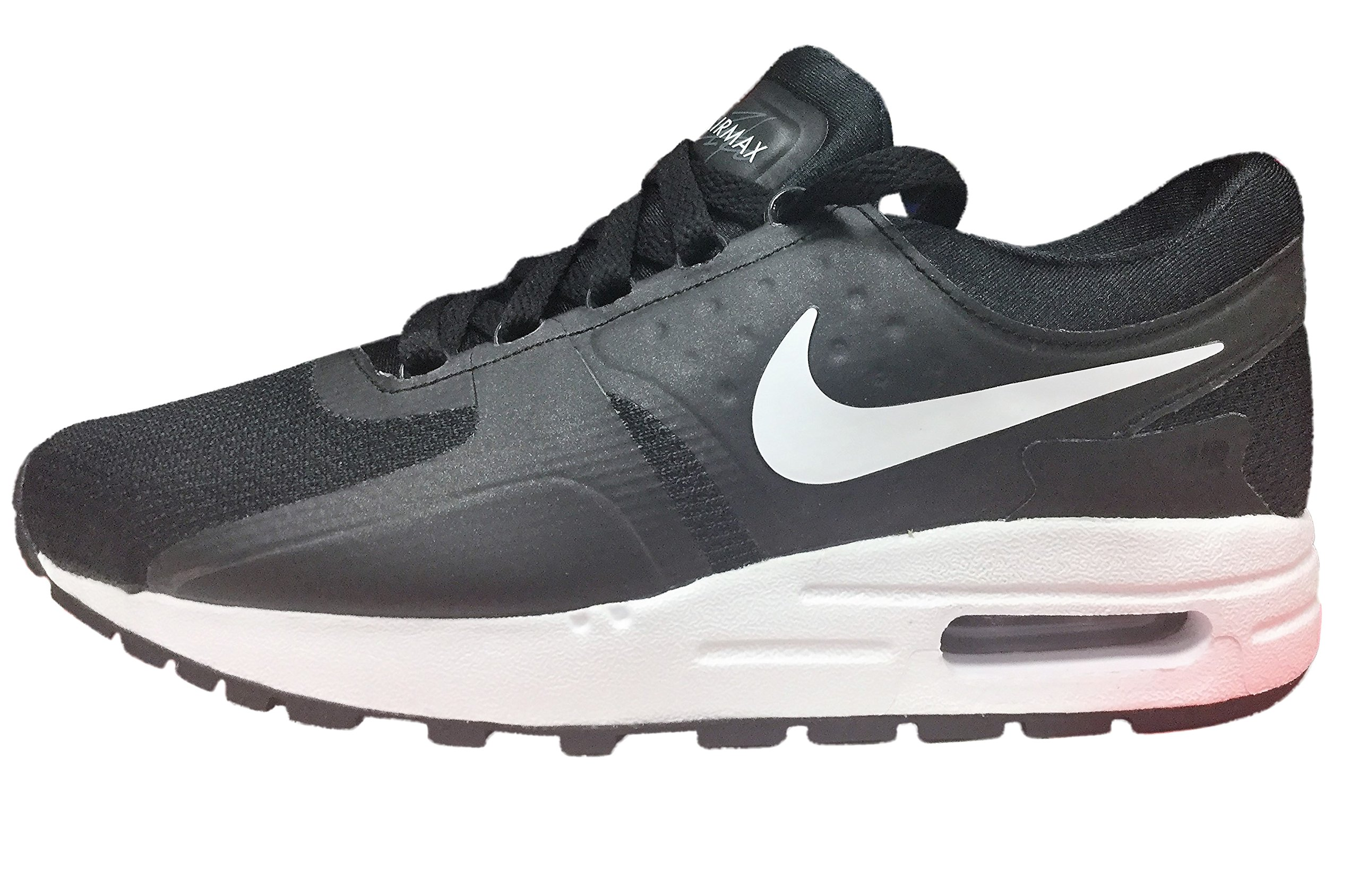 c23a082d64 Galleon - Nike Youth (GS) Air Max Zero Running Shoes Black/Dark Grey/White  881224-002 Size 5