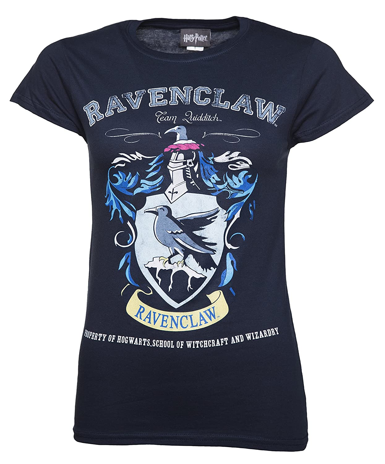 DCI Womens Navy Harry Potter Ravenclaw Team Quidditch T Shirt CID