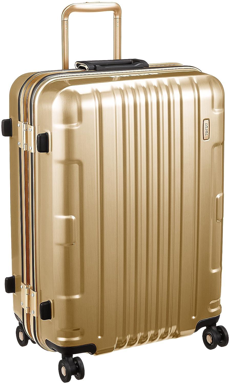 [ロジェール] スーツケース 保証付 67L 66cm 4.3kg KOZMOS-M B0791T8TJN ゴールド ゴールド