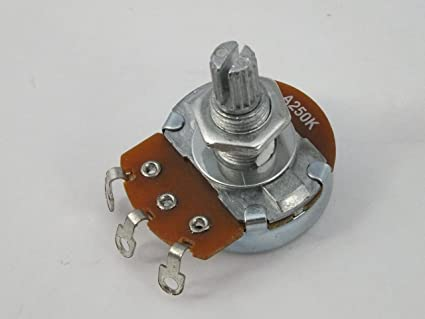 Tamaño completo tono & Volumen Pot Potenciómetros para guitarra ...