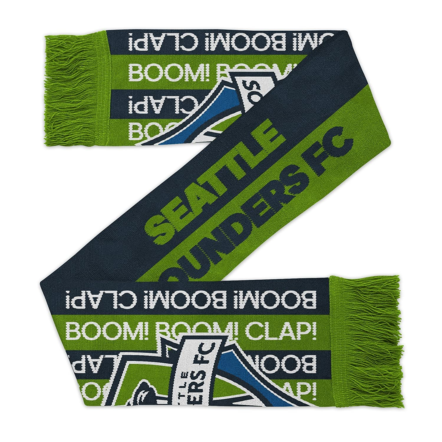 MLS Seattle Sounders Fc Youth Outerstuff Fan Stripe Scarf Youth One Size Team Color