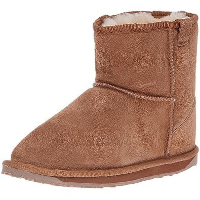 d159c7fb86e454 Emu Wallaby Mini Mädchen Kurzschaft Stiefel  MainApps  Amazon.de  Schuhe    Handtaschen
