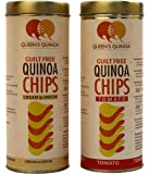 Queen's Quinoa People's Flavoured Chips -Combo Pack (1 Tomato and 1 Cream and Onion)