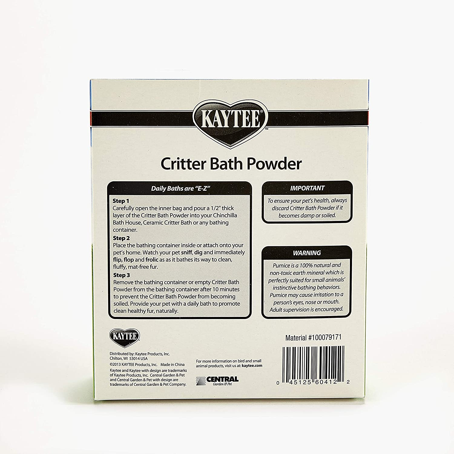Kaytee Critter Bath Powder for Pets : Pet Supplies