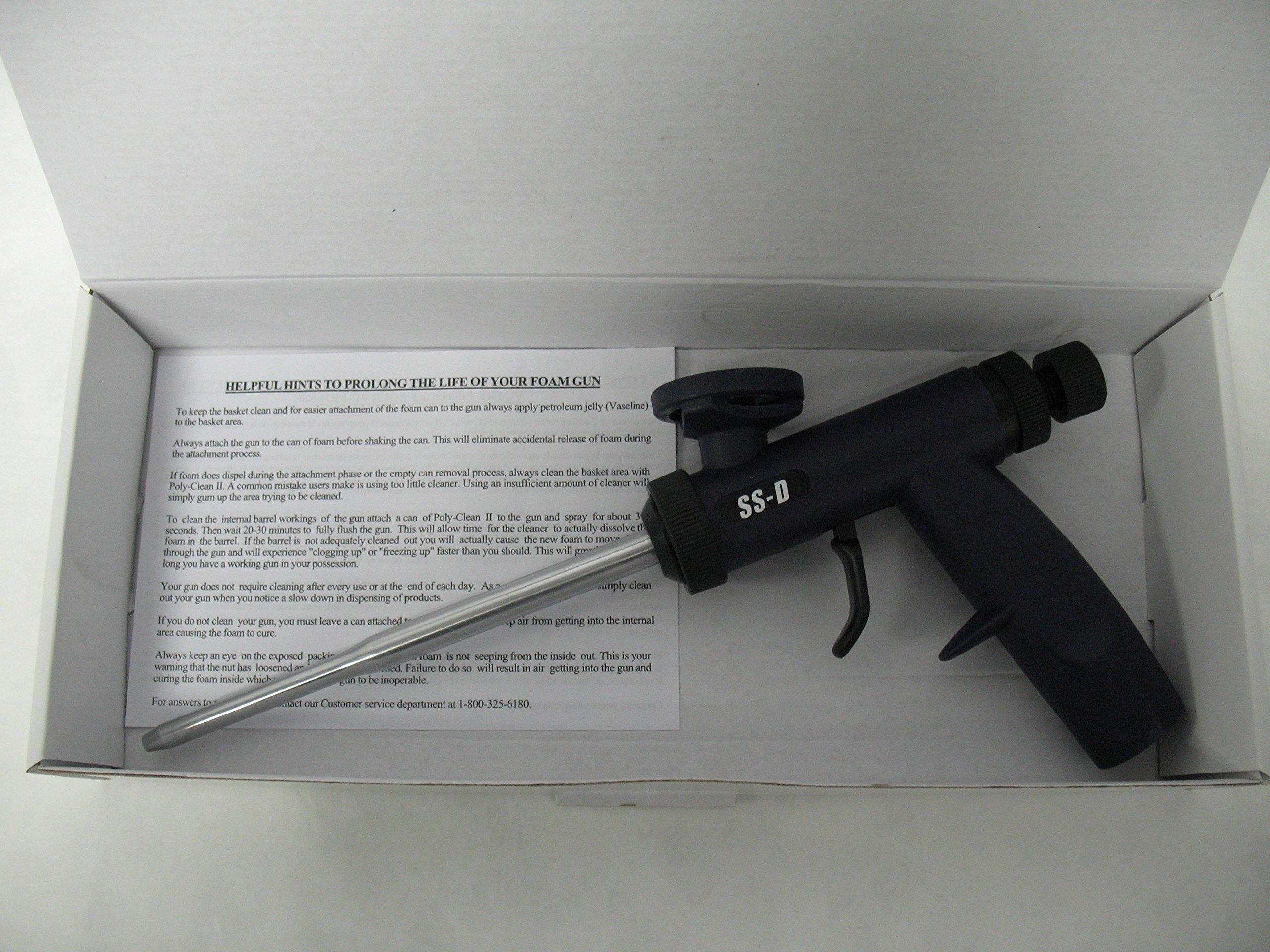 Touch 'n Seal Metal Barrel Sharpshooter D Adjustable Output PU Foam Gun, Home Improvement Tool