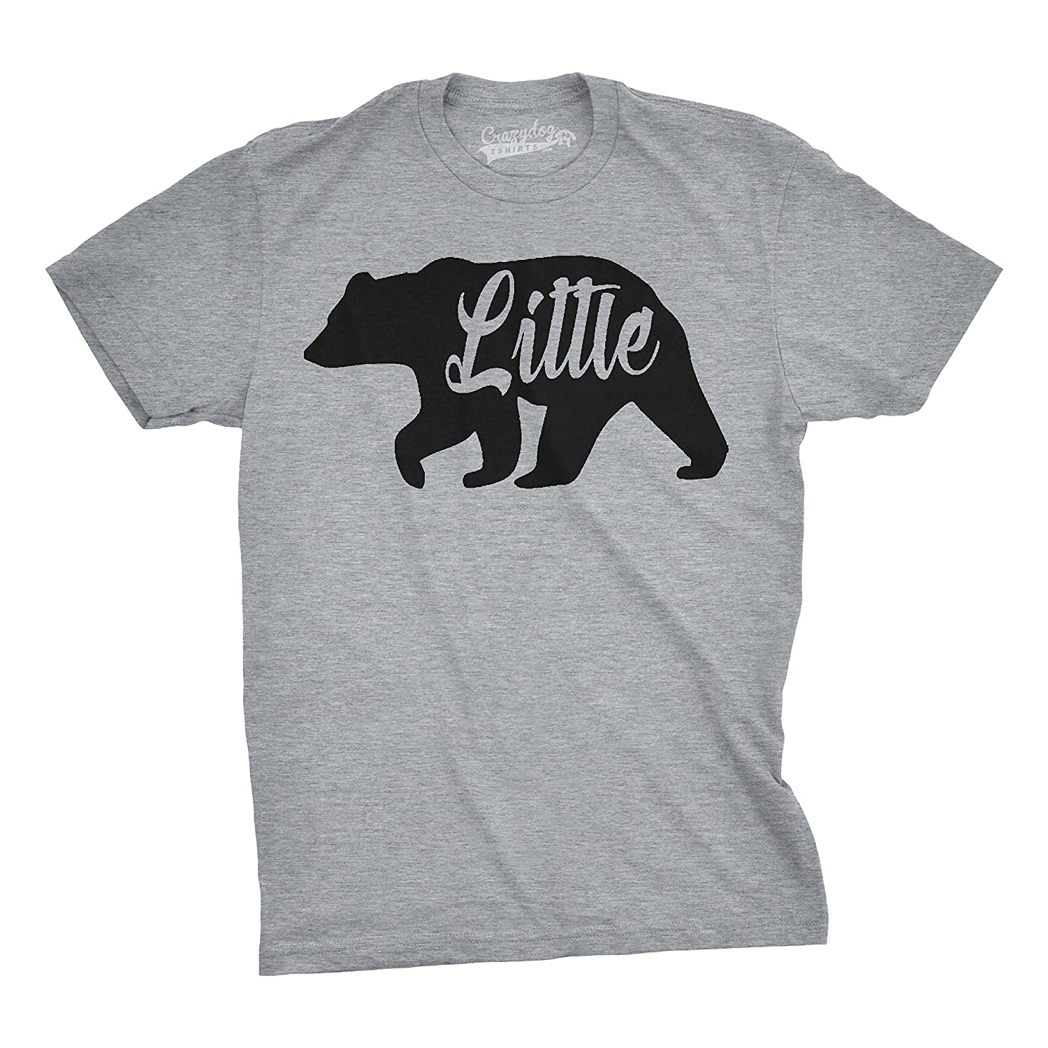 Youth Little Bear Cute Gift for Children Adorable Funny Novelty Family T shirt