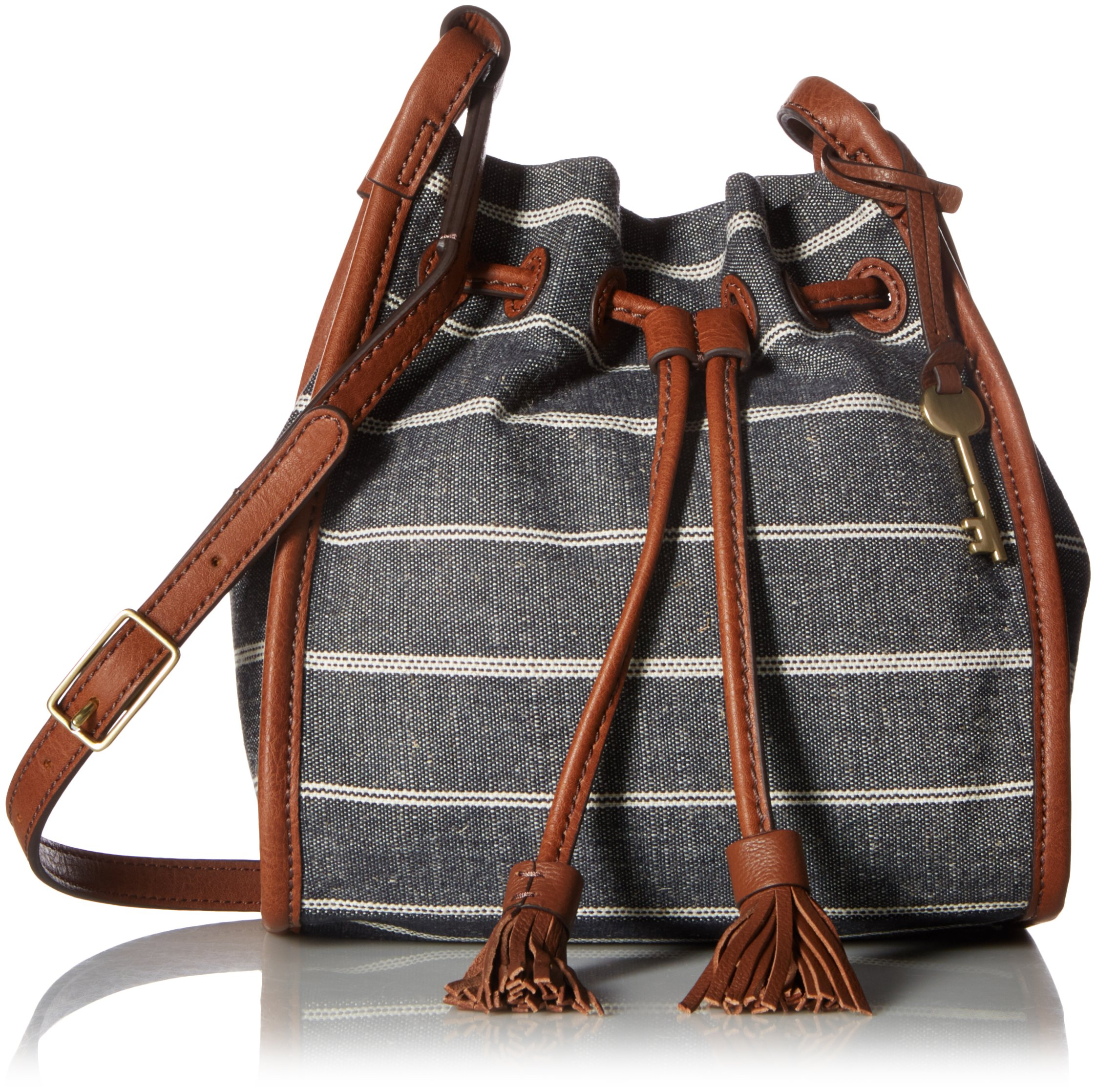 Fossil Claire Small Drawstring, Chambray