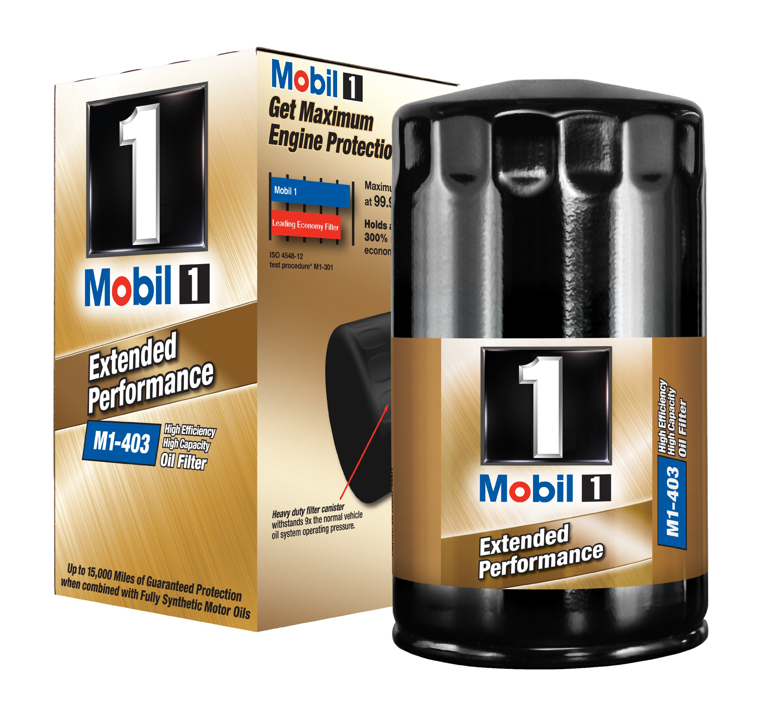 Mobil 1 M1-403 Extended Performance Oil Filter by Mobil 1