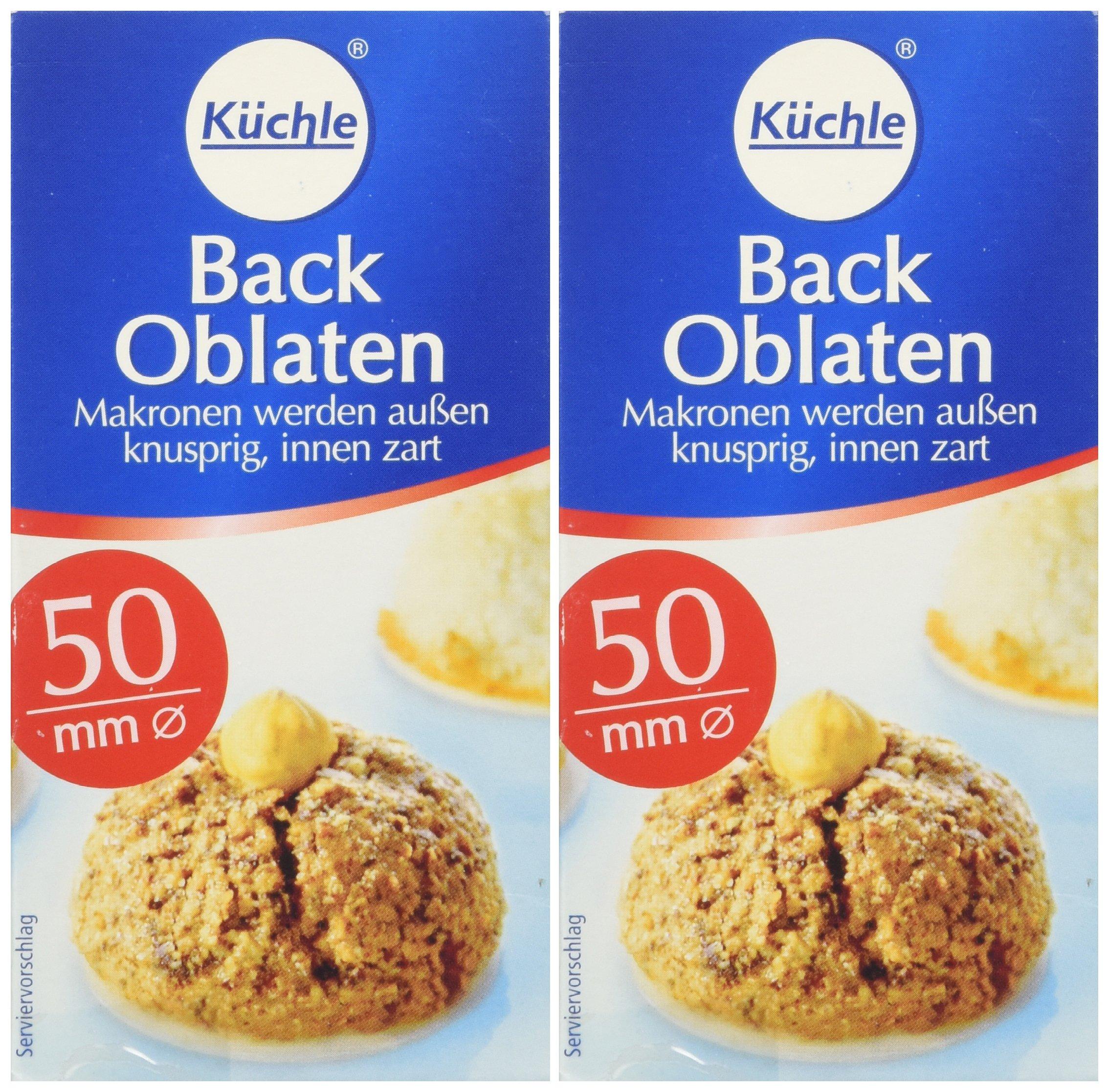 Kuchle Back Oblaten (2x37g/2x 1.30oz) Pack of 2