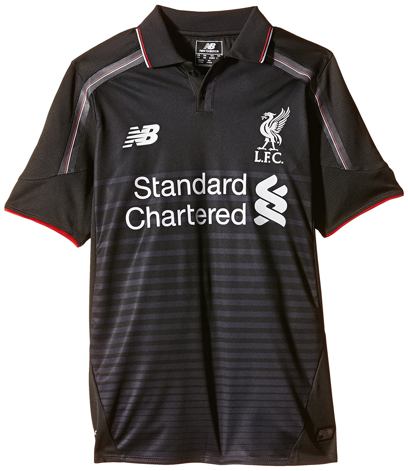 Liverpool FC 2015 16 Kids 3rd S S Football Shirt - Größe Large_B