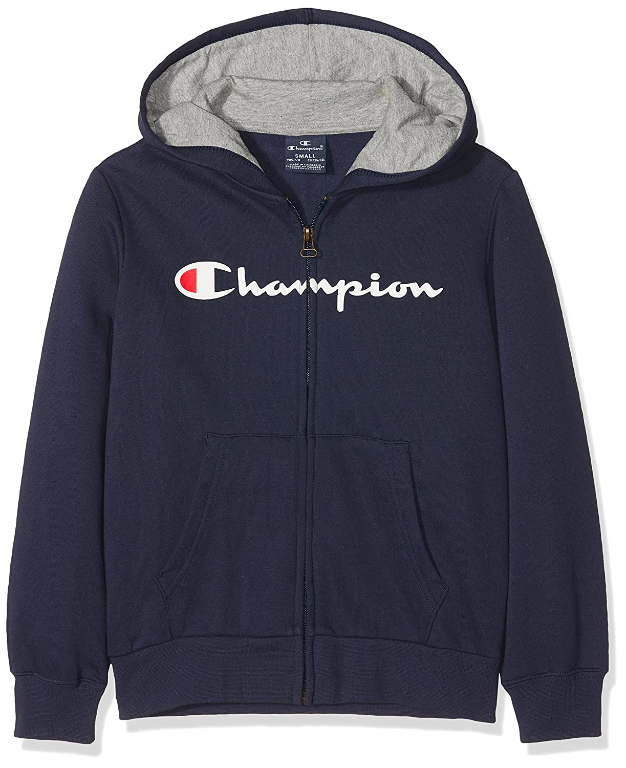 Champion Jungen Kapuzenpullover Hooded Full Zip Sweatshirt 304839