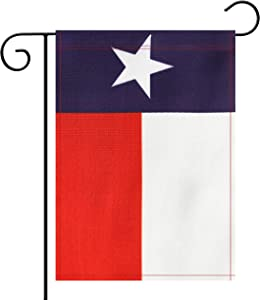 NoLogo Garden Flag Texas State TX Lone Star Flag Garden Flag,Garden Decoration Flag,Indoor and Outdoor Flags,Celebration Parade Flags,State Party Events Celebration,Double-Sided