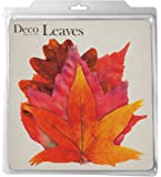 EuroQuest Imports Fall Deco Parchment Leaves, Package of 20