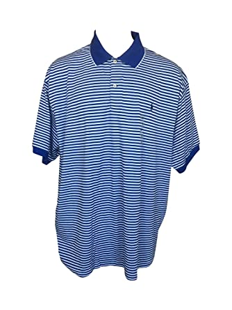 569b901350 Polo Ralph Lauren Men's Polo Shirt Classic Fit Two-Button Placket Striped  Big & Tall