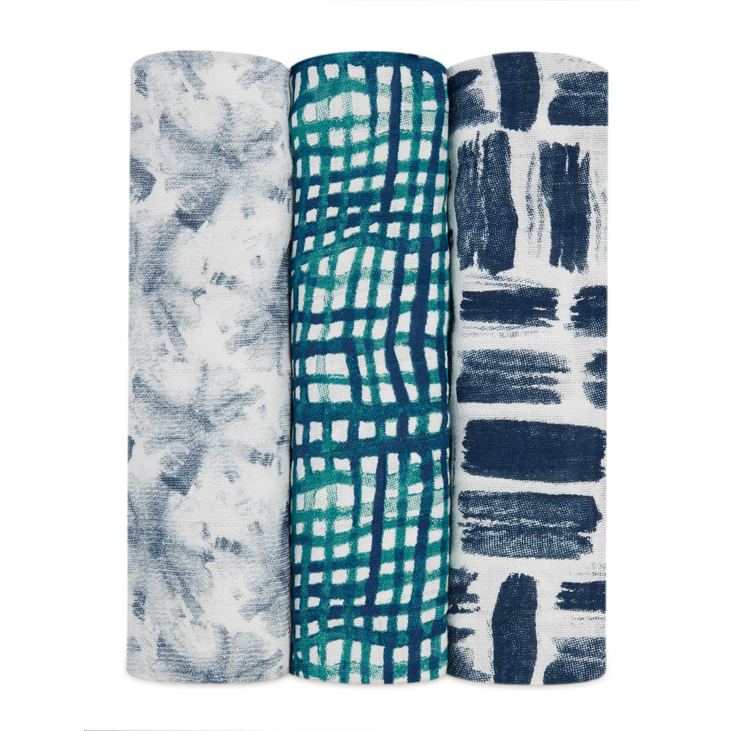 Aden + Anais Seaport - Pack de 3 muselinas, unisex product image