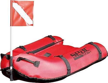 SEAC Seamate Plancha Inflable de PVC 420 D, Hombre, Rojo, M/L