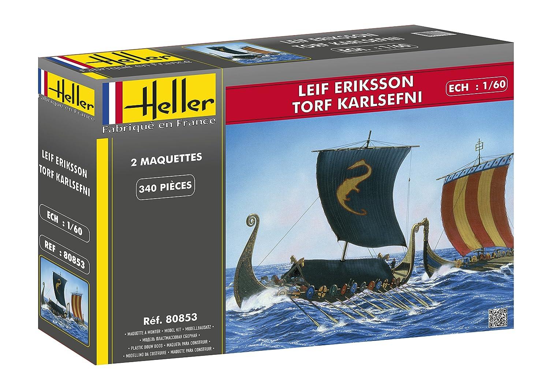 Heller 80853 Modelo Kit Leif Eriksson & césped Karl efni ...