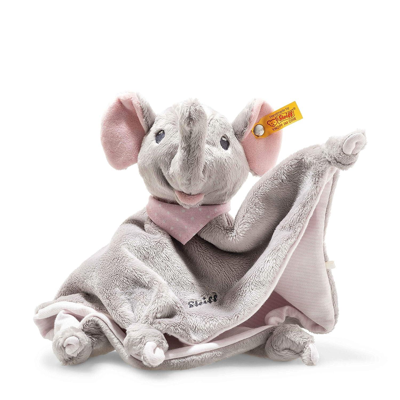 grau Steiff 241680 Trampili Elefant Schmusetuch2