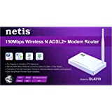 Netis Dl4310, 150Mbps Wireless N Adsl2+ Modem Router