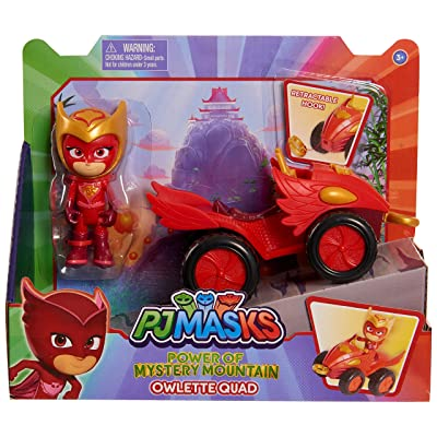 PJ Masks Mystery Mountain Quads - Owlette: Toys & Games
