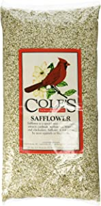 Cole's SA05 Safflower Bird Seed, 5-Pound