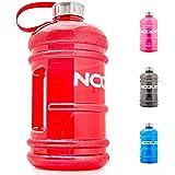 noquit Water Jug–2.2L Gourde–XXL de Sport bouteille d'eau–Sans BPA Et DEHP–Idéal pour Crossfit, Bodybuilding & lutte Sport