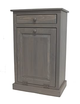 Heritage Pine Collection 9-gallon Tilt-out Kitchen Trash Can