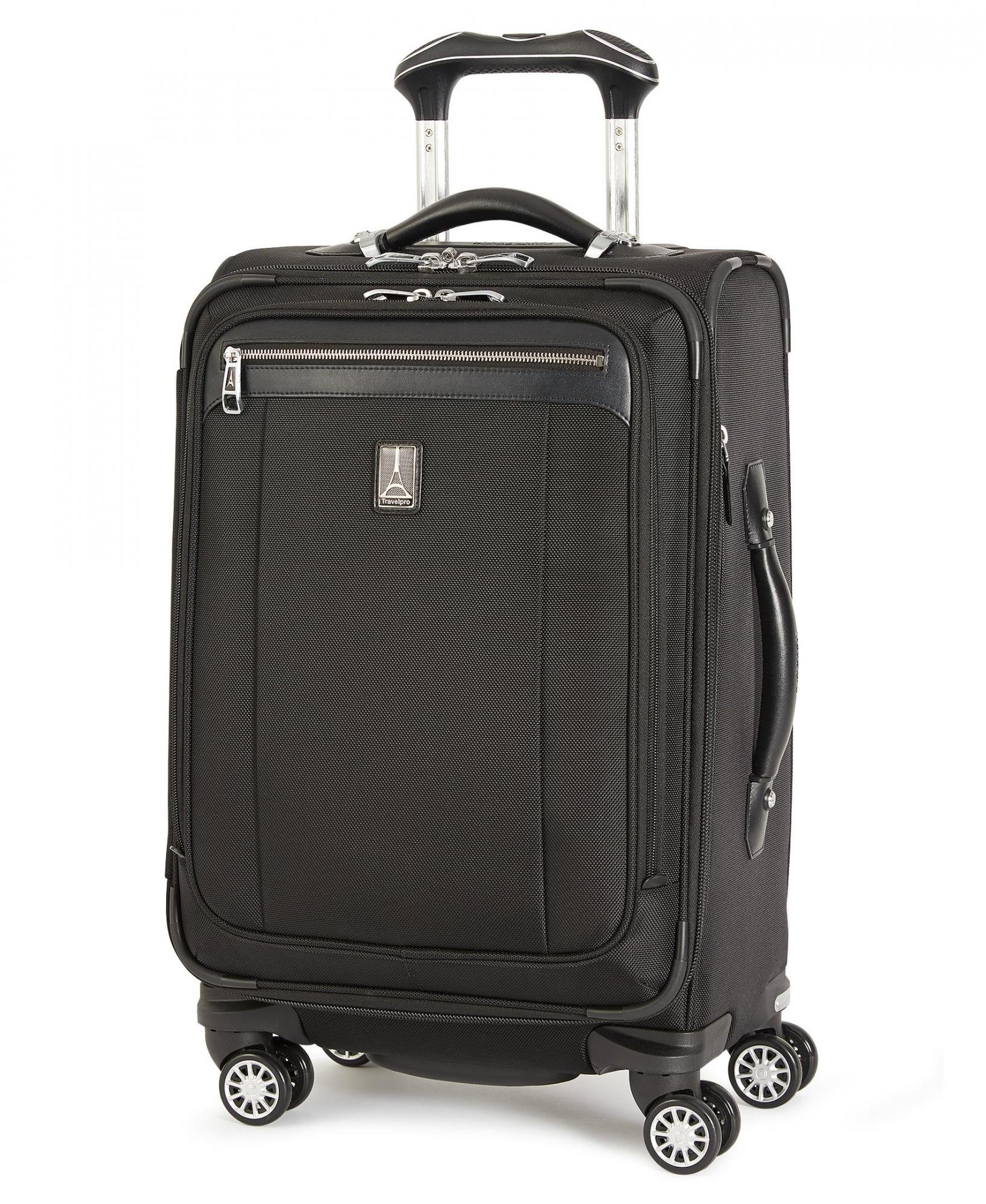 Travelpro Platinum Magna 2 20 Inch Express Business Plus Rollaboard (One size, Black)