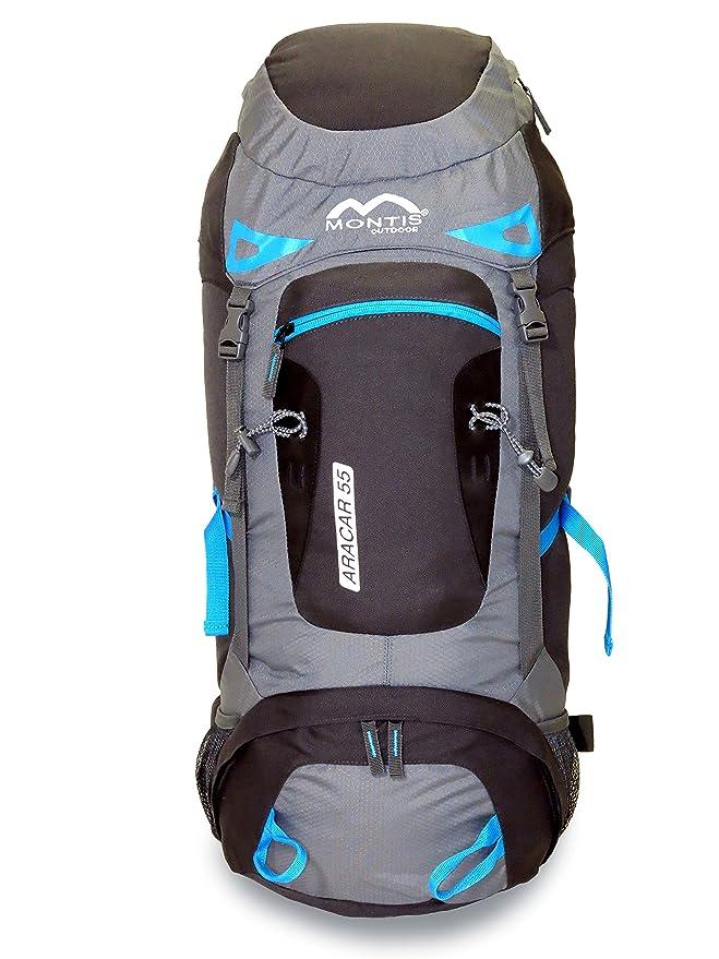 MONTIS ARACAR 55 - Mochila de Trekking y Senderismo - 55 l - 70 x 32-1500 g: Amazon.es: Deportes y aire libre