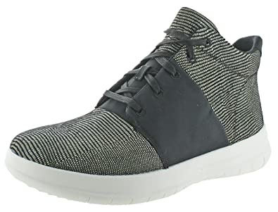 4f9f29bb548 FitFlop Women s Sporty-Pop X Lizard Print High-Top Black Shoe