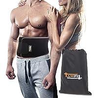 TAWFIT Fascia Addominale Dimagrante Cintura Snellente Regolabile Brucia i Grassi per Uomo e Donna qualità Premium
