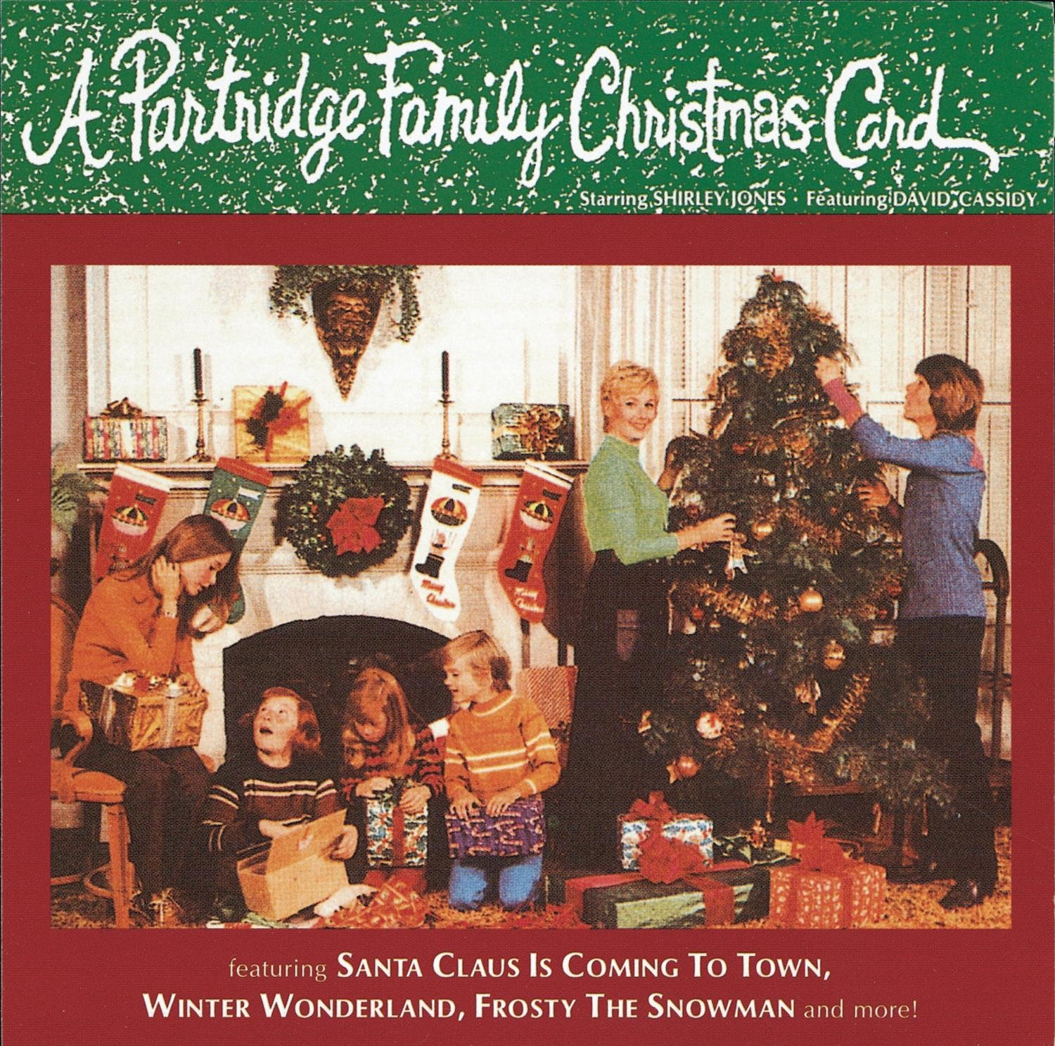 amazon com a partridge family christmas card music a partridge family christmas card