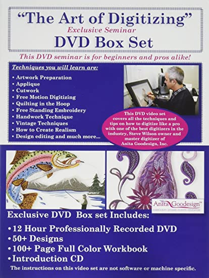 Amazon Anita Goodesign Art Of Digitizing Dvd Box Set By Steve