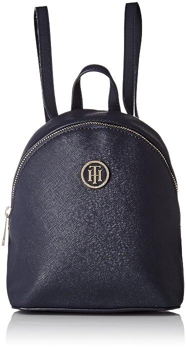 Tommy Hilfiger - Honey Micro Backpack Crossover, Bolsos mochila Mujer, Bleu (Tommy Navy