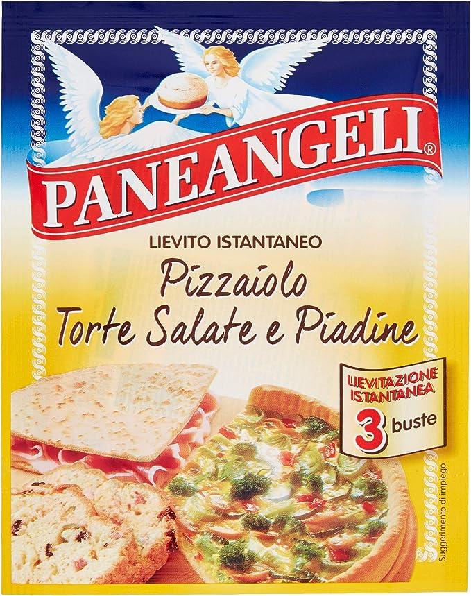 Paneangeli Lievito Pizzaiolo - 5 paquetes de 3 unidades de 15 ...