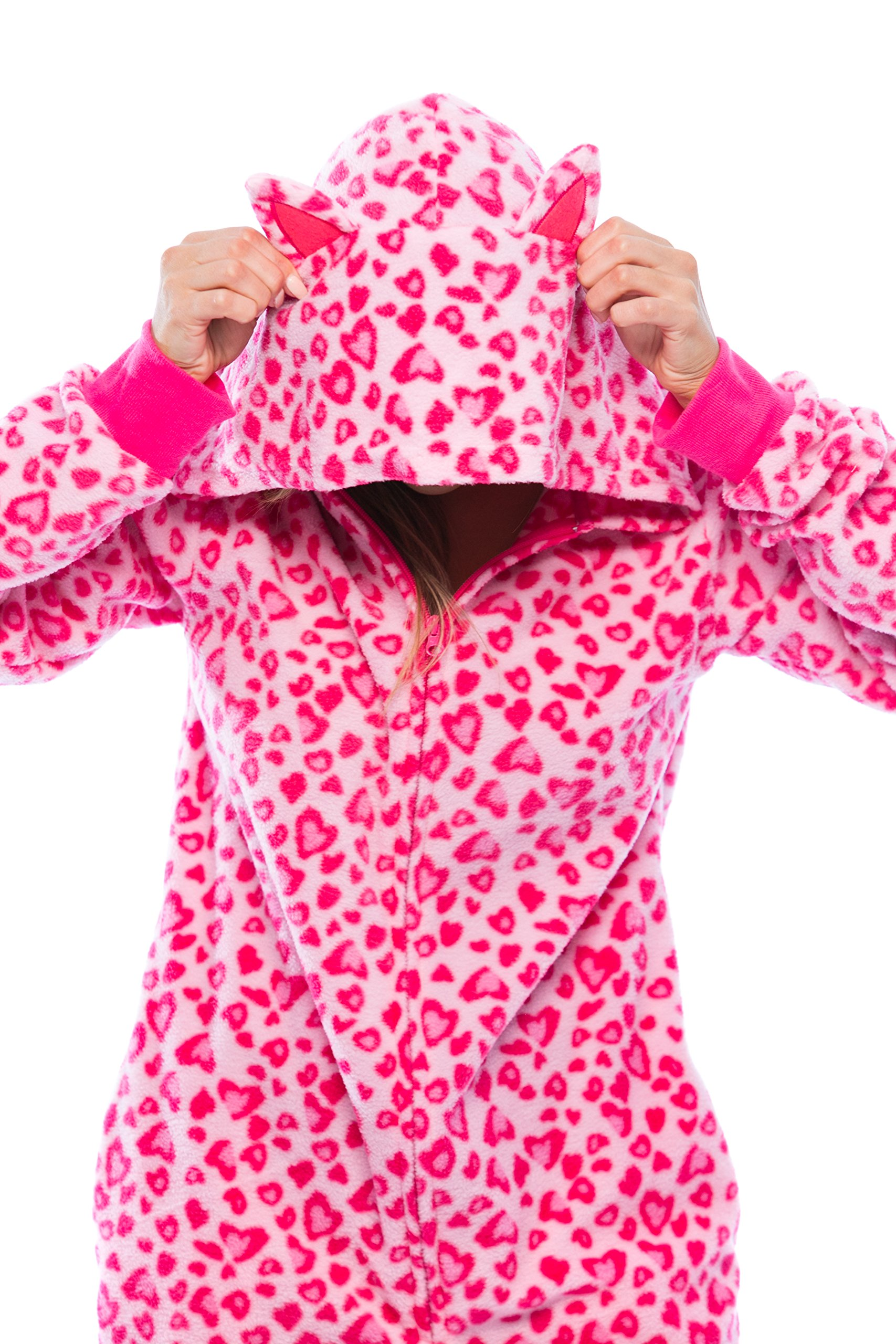 Just Love 6453-10215-M Adult Onesie With Animal Prints/Pajamas by Just Love (Image #5)