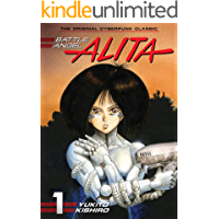 Battle Angel Alita Vol. 1 book cover