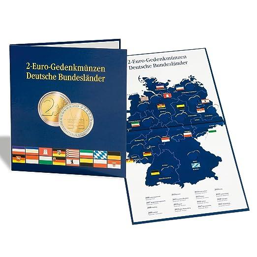 Leuchtturm 300408 Presso Münzalbum Für 16 Deutsche 2 Euro