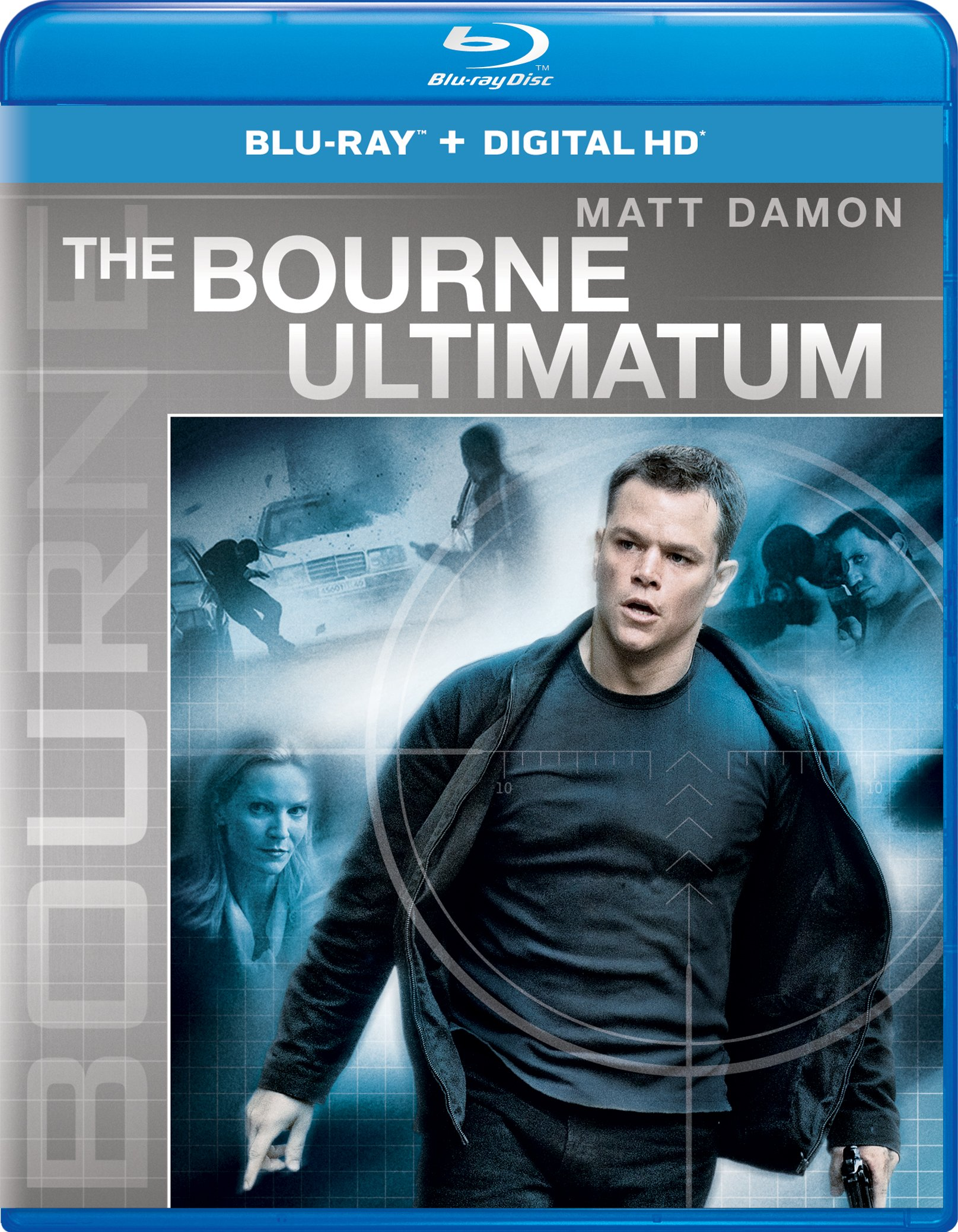 Blu-ray : The Bourne Ultimatum (Ultraviolet Digital Copy, Snap Case, Digital Copy, Digitally Mastered in HD)